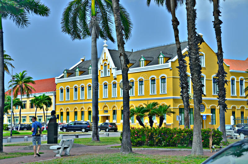 Willemstad, Curacao royalty-vrije stock foto's