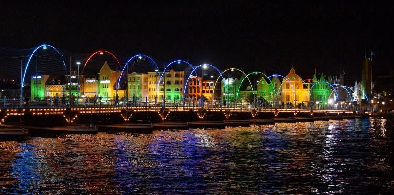 Willemstad, Curacao, ABC wyspy obrazy royalty free