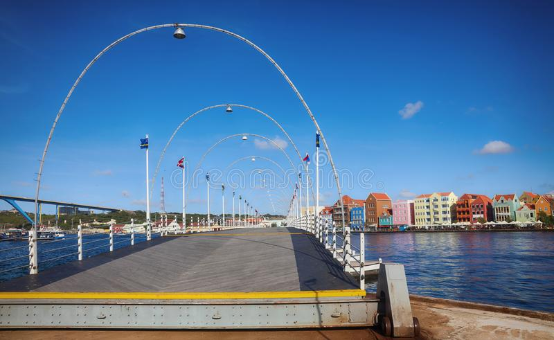 willemstad Curacao, Antillen van Nederland royalty-vrije stock foto