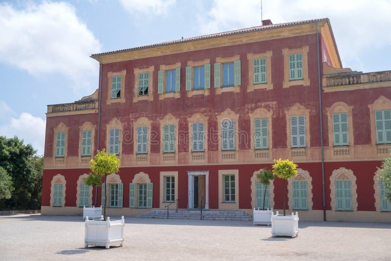 Willi des Arenes, Henri Matisse muzeum, Ładny, Francja obraz royalty free