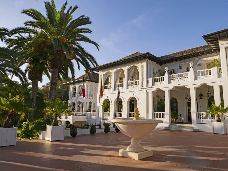 Willi Josephine wnętrze: Tangier, Maroko fotografia royalty free