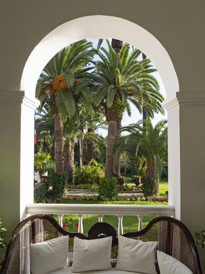 Willi Josephine wnętrze: Tangier, Maroko zdjęcia royalty free