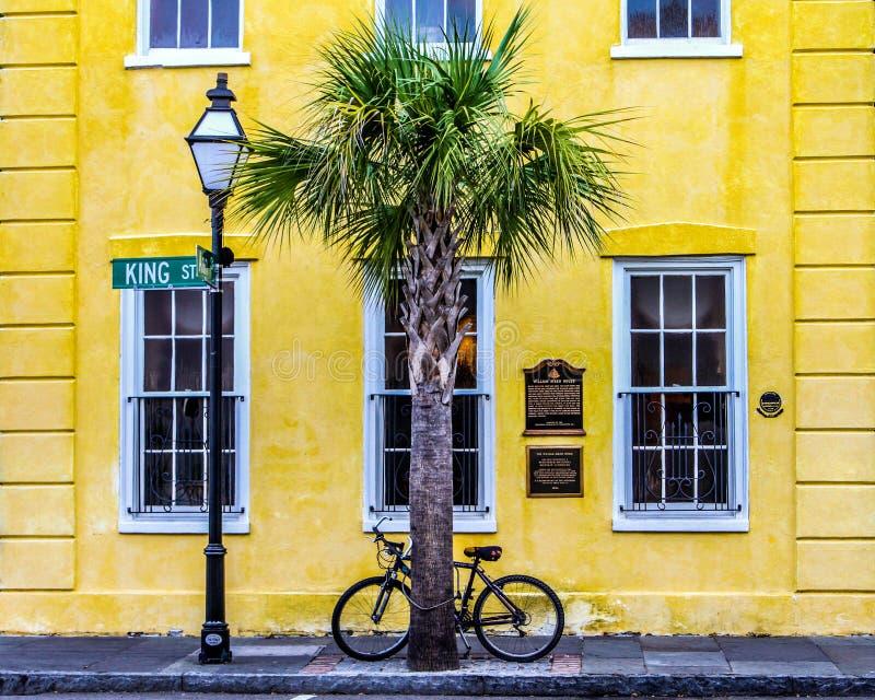 William Aiken House, Charleston, SC. Historic William Aiken House on King Street, in Charleston, South Carolina stock image