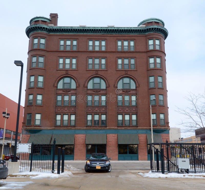William Brown Building imagen de archivo libre de regalías