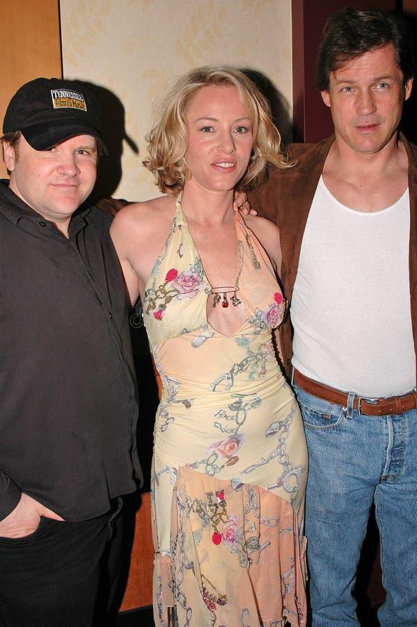 William Butler, Jenny McShane, Michael Par Redactionele Fotografie