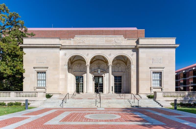 William Clements Library bij Universiteit van Michigan stock foto's