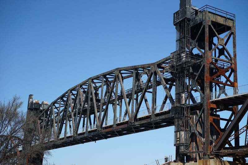 William Clinton parka Prezydencki most obrazy stock
