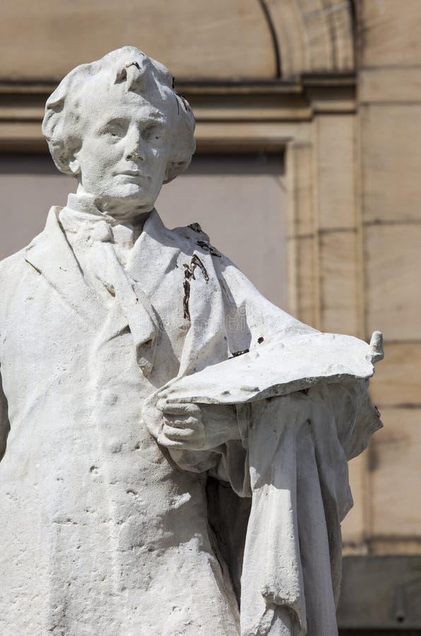 William Etty Statue en York imágenes de archivo libres de regalías