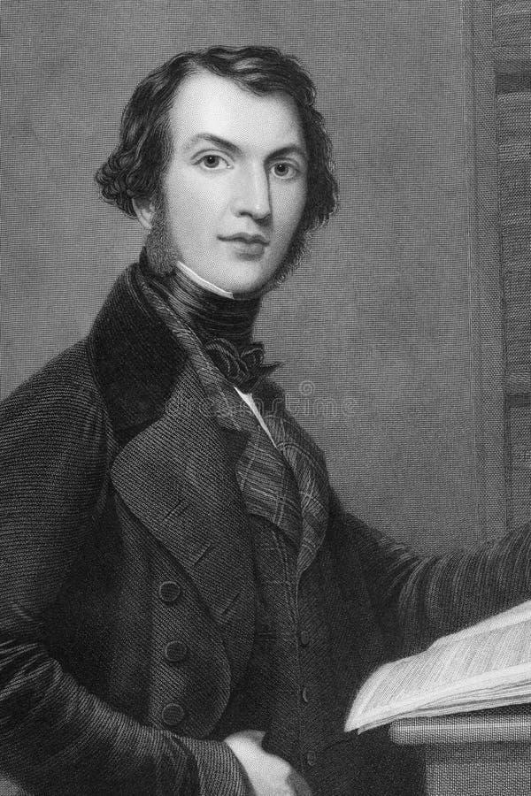 William Ewart Gladstone stock afbeelding