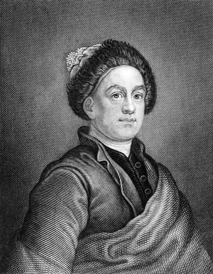 William Hogarth στοκ εικόνα