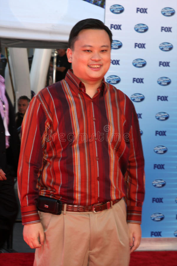 William Hung images stock