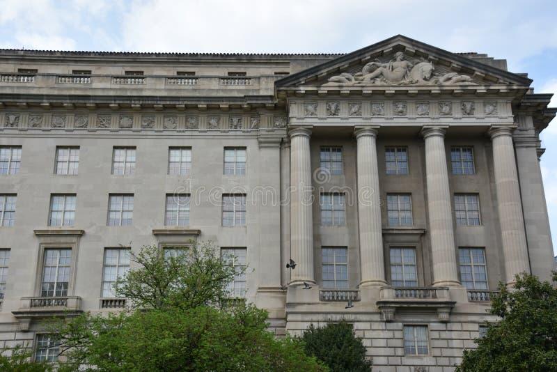 William Jefferson Clinton Federal Building dans le Washington DC photo libre de droits