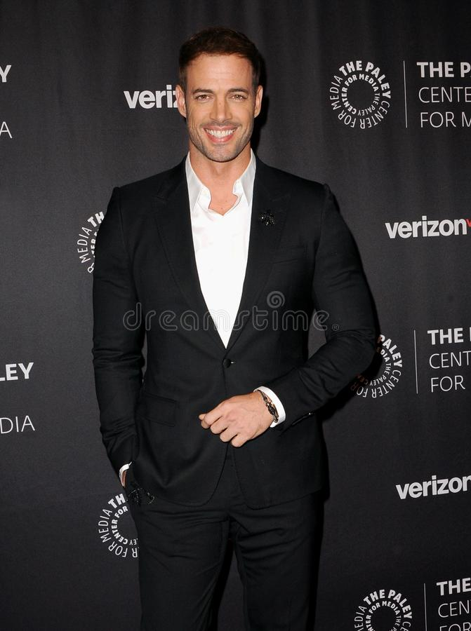 William Levy. At the Paley Center for Media`s Hollywood Tribute to Hispanic Achievements in Television held at the Four Seasons Hotel in Beverly Hill, USA on stock image