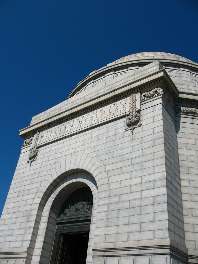 William McKinley Monument royalty free stock photos