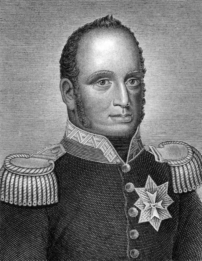William mig av Nederländerna royaltyfri bild