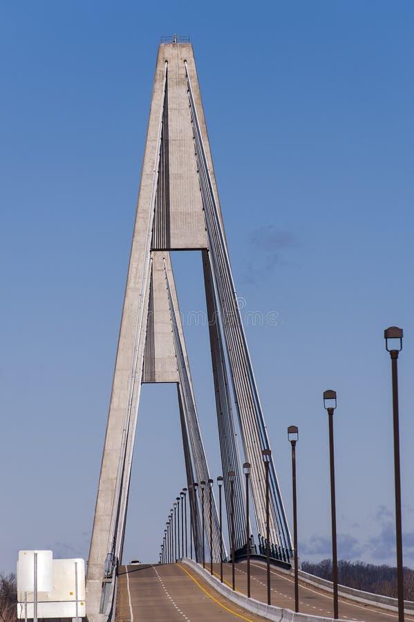 William Natcher Bridge - o Rio Ohio foto de stock royalty free