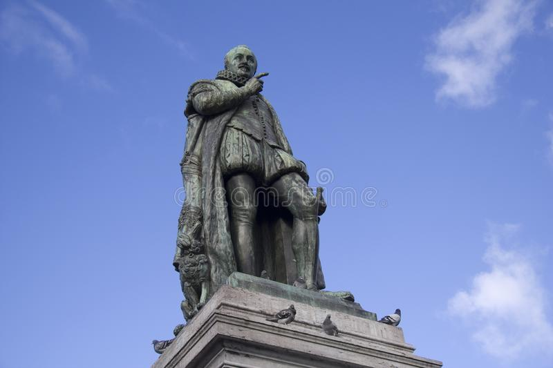 William of Orange Statue royalty free stock photos