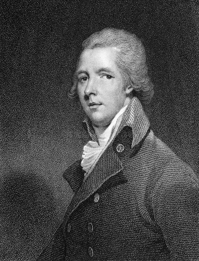William Pitt, Jonger royalty-vrije stock fotografie