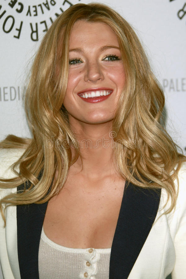 Blake Lively. 'Gossip Girl'- PaleyFest08 Paley Center for Media's 24th William S. Paley Television Festival ArcLight Theater Los Angeles, CA March 22, 2008 2008 stock photo