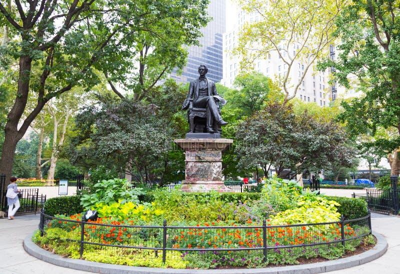 William Seward Monument foto de archivo libre de regalías