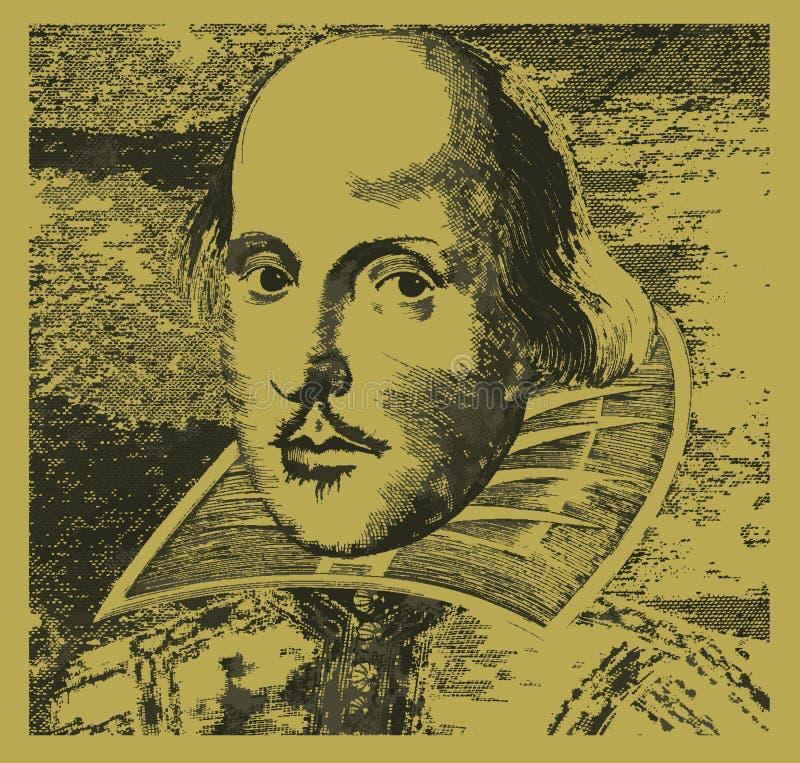 William shakespeare royalty ilustracja