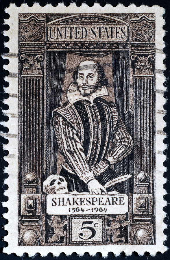 William shakespeare fotografia royalty free