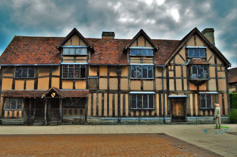 William Shakespeare Haus stockbilder