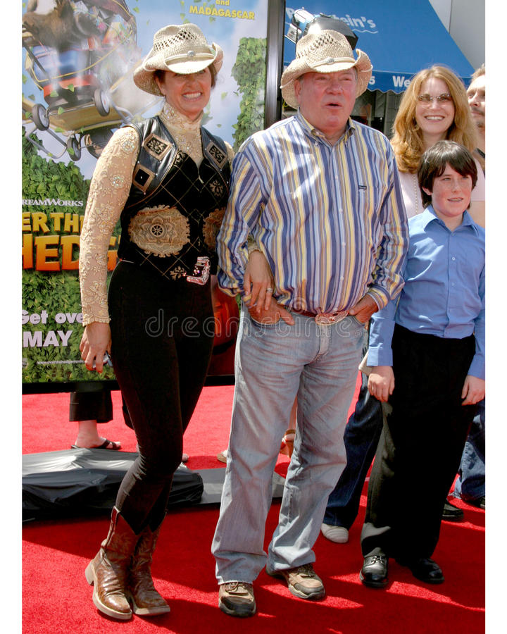 Download William Shatner editorial stock photo. Image of wife - 20856458