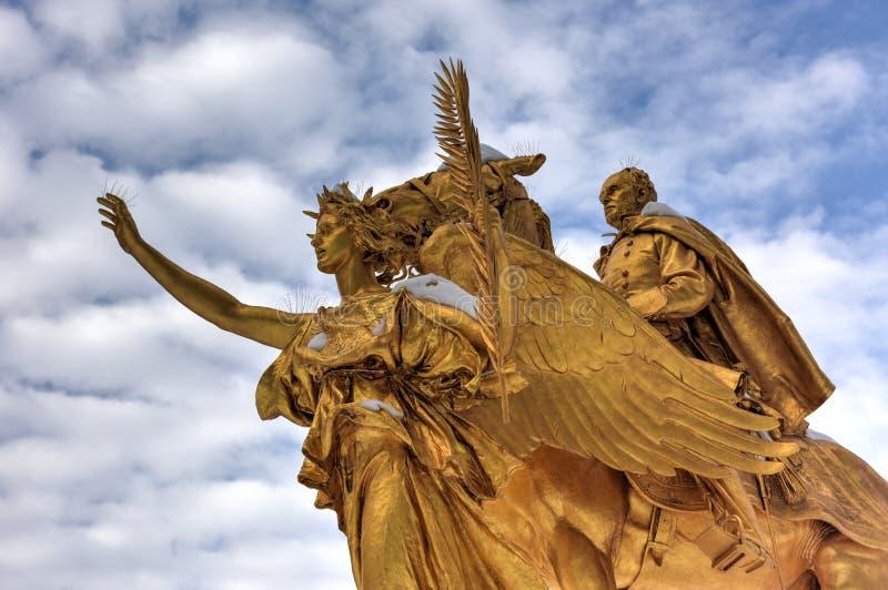 William Sherman Memorial - Central Park, NYC lizenzfreie stockfotos