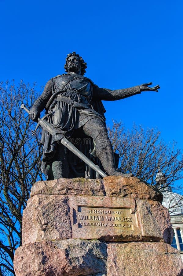 William Wallace στοκ εικόνα