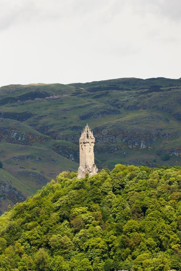 William Wallace Monument, Stirling, Ecosse images libres de droits