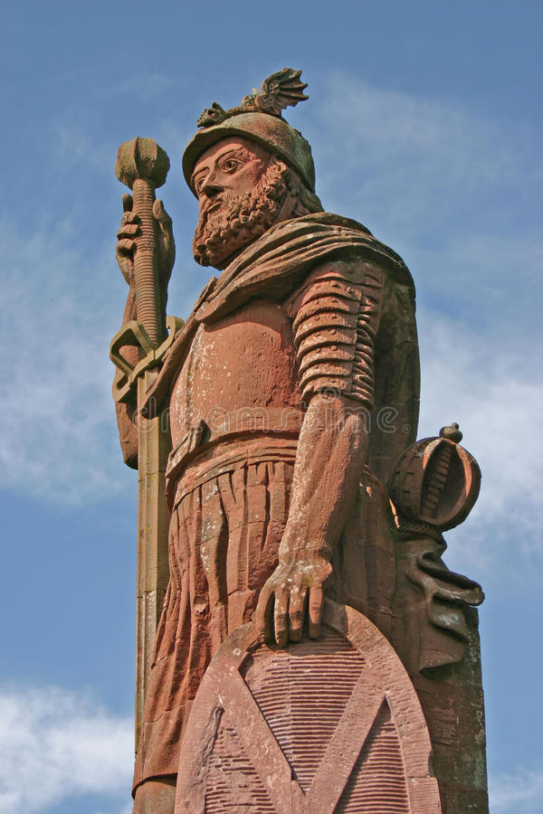 William Wallace statua obrazy royalty free