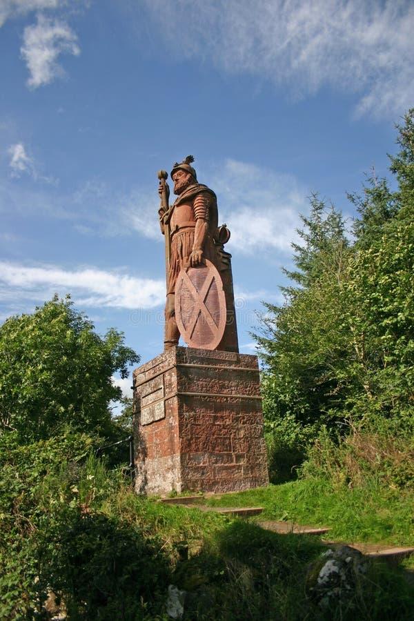 William Wallace Statue fotografia de stock