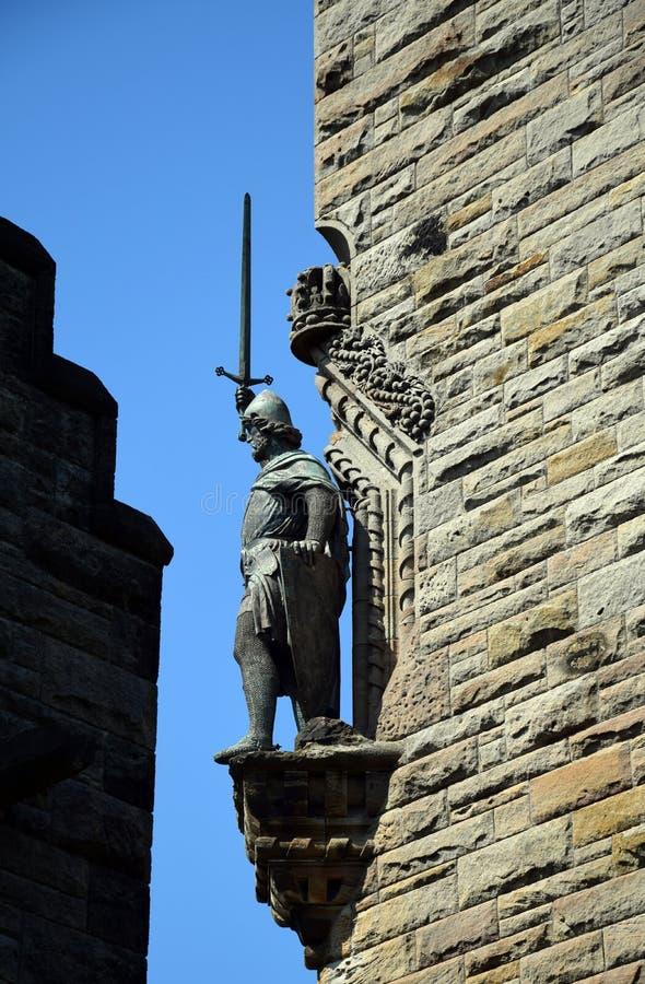 William Wallace Statue fotografia de stock royalty free