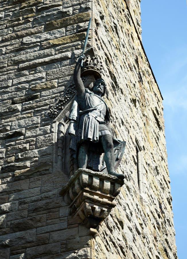 William Wallace Statue foto de stock