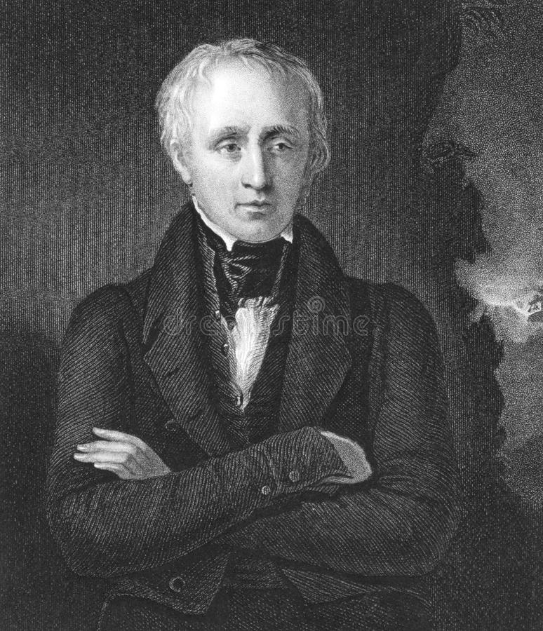 William Wordsworth arkivfoton
