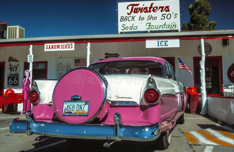 Williams, Arizona, Route 66 immagine stock libera da diritti