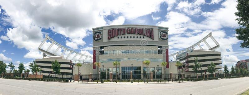 Williams Brice Stadium, Columbia, South Carolina. Williams-Brice Stadium, Columbia, South Carolina. Home of the USC Gamecocks royalty free stock images