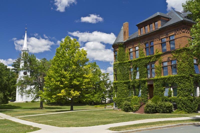 Williams College Buildings stockbilder