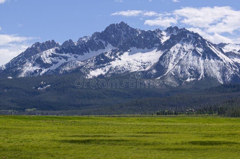 Williams Peak. Sawtooth Mountains, Idaho royalty free stock image