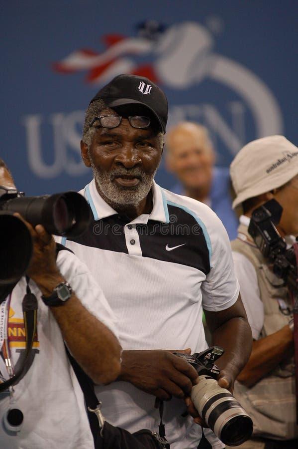 Williams Richard aux USA ouvrent 2008 (8) images libres de droits