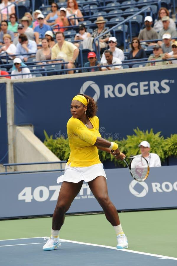 Williams Serena an Rogers-Cup 2009 (21) lizenzfreies stockfoto