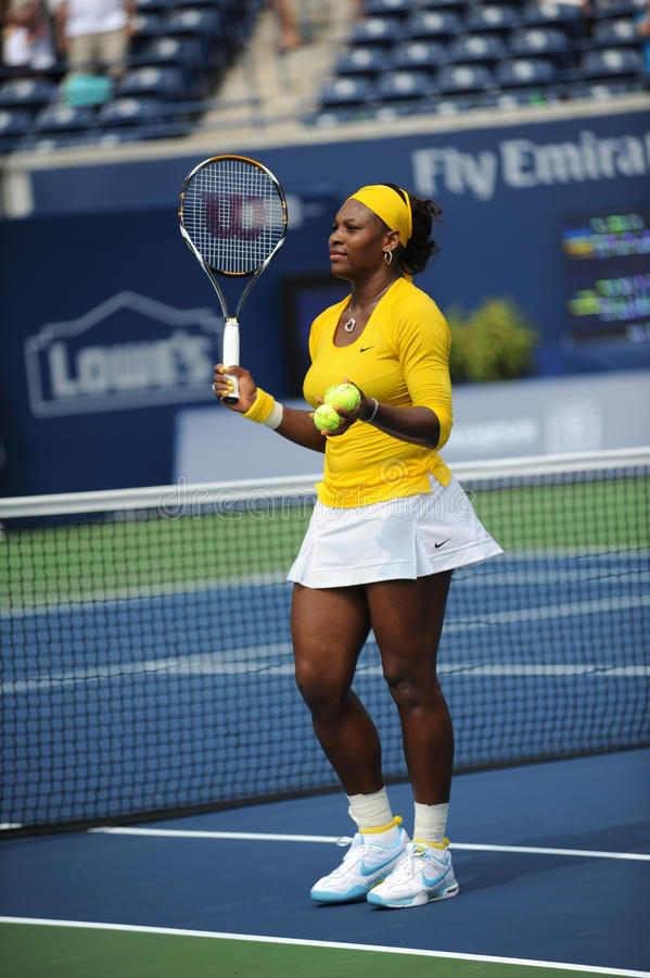 Williams Serena at Rogers Cup 2009 (93) royalty free stock photo