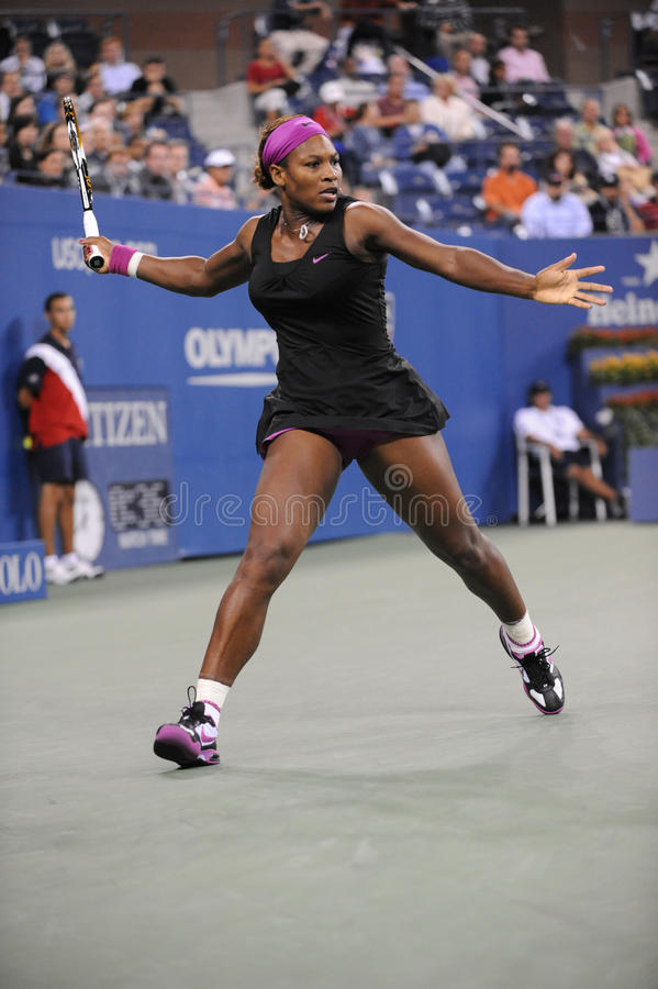 Williams Serena in US öffnen 2009 (4) stockfoto