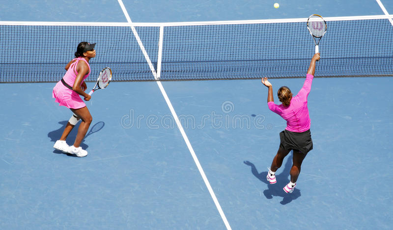 Download Williams Sisters At US Open Editorial Stock Photo - Image: 17159533