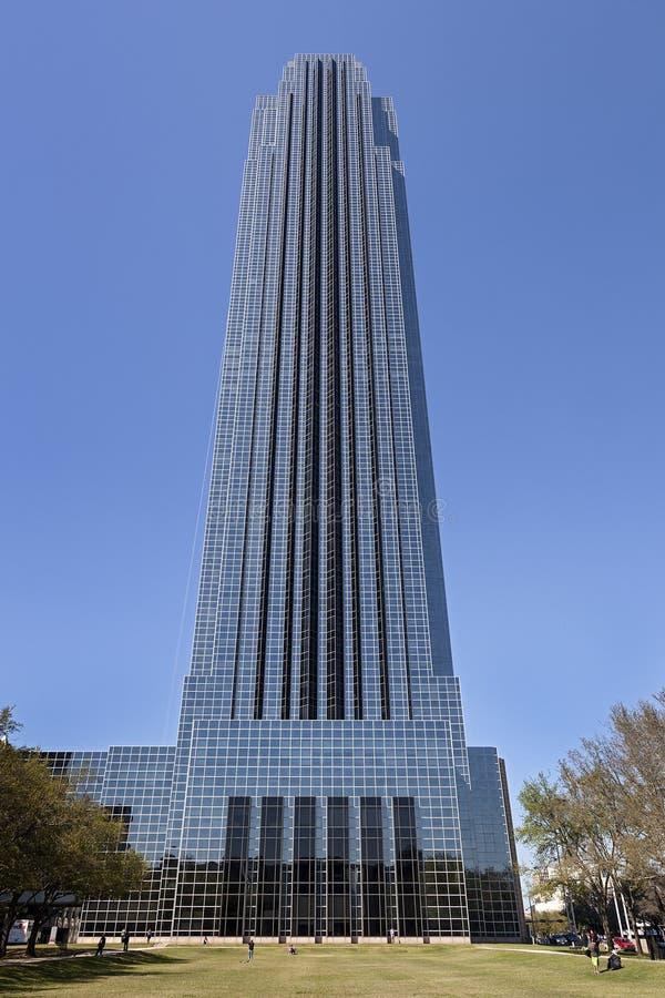 Williams Tower in Houston, Texas. stock photos