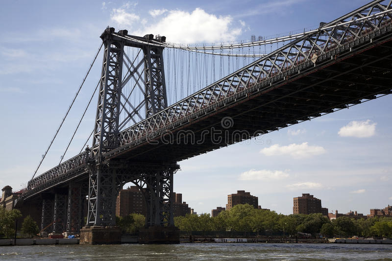 Download Williamsburg Bridge stock photo. Image of cables, lower - 10202586
