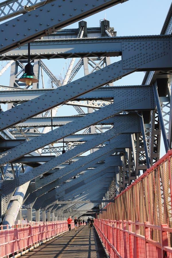 Williamsburg Bridge. stock images