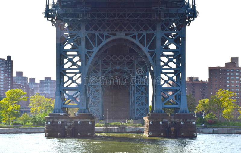 The Williamsburg Bridge stock images