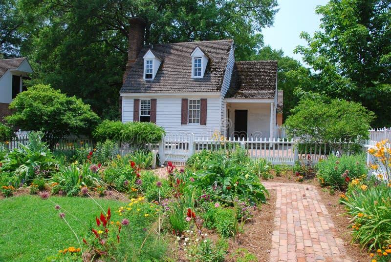 Williamsburg coloniale immagine stock libera da diritti